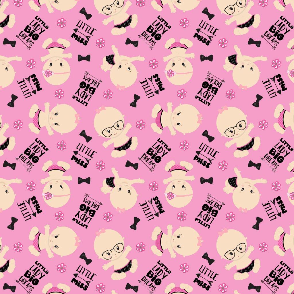 baby girl 744040 (vyberte materiál zimní softshell elastický (šíře 150cm) 280g  10000/10000)