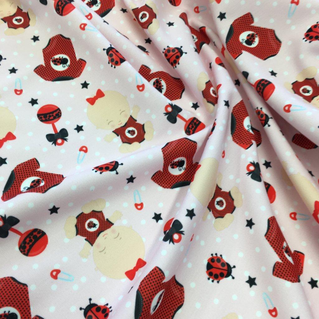 baby girl 744049 (vyberte materiál zimní softshell elastický (šíře 150cm) 280g  10000/10000)