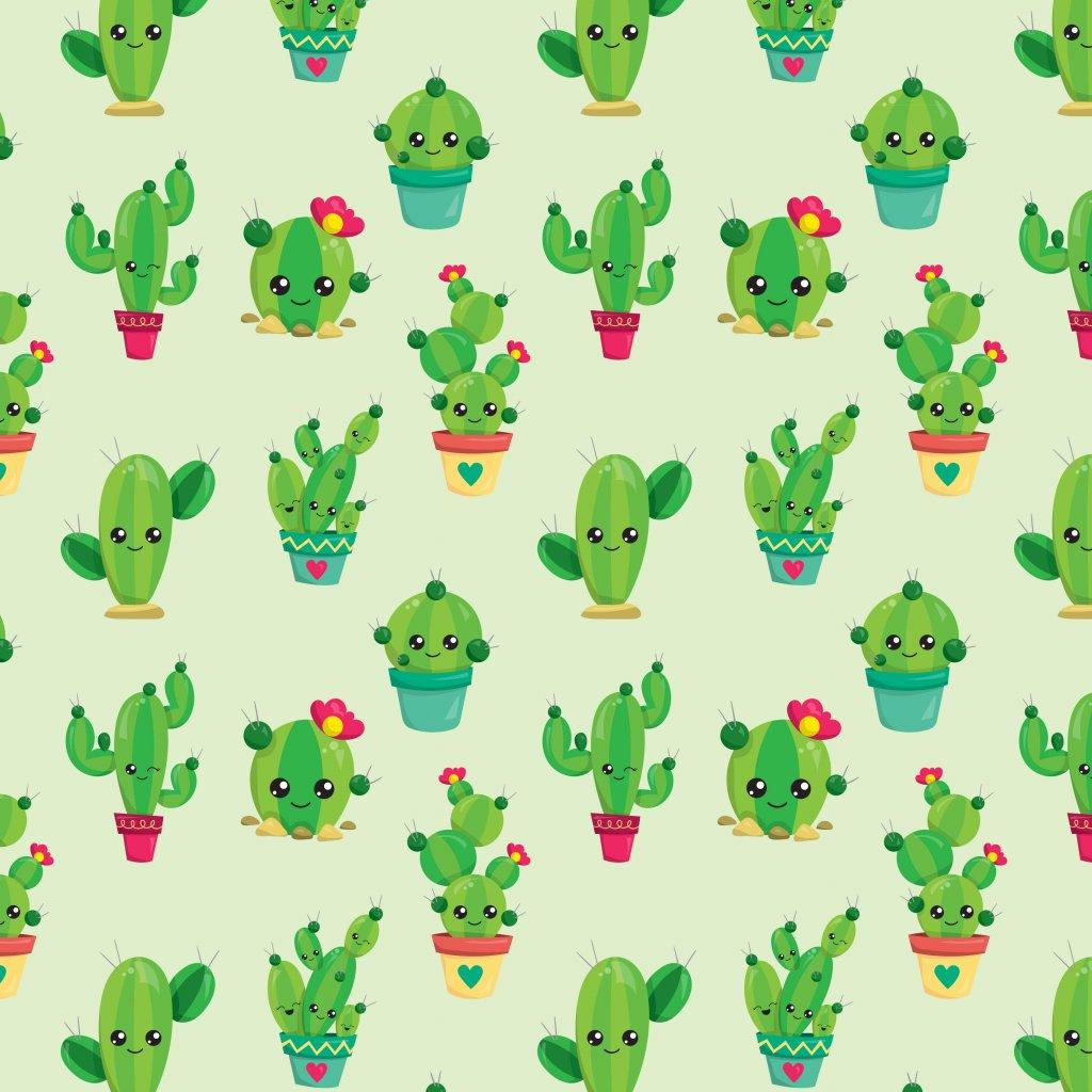 Kaktus 744073 (vyberte materiál zimní softshell elastický (šíře 150cm) 280g  10000/10000)