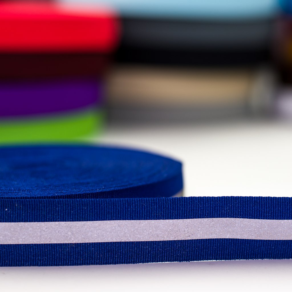 reflexní pásek modrý