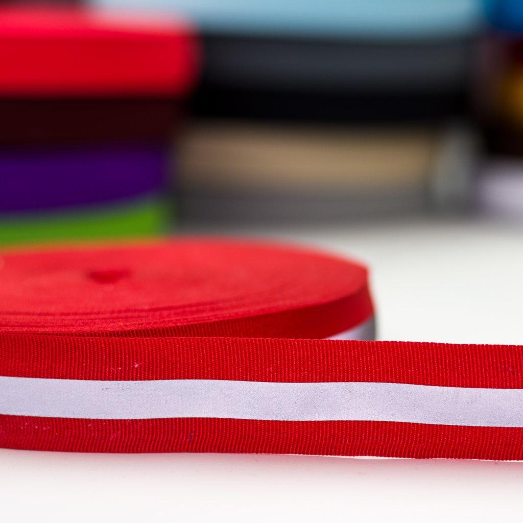 reflexní pásek červený