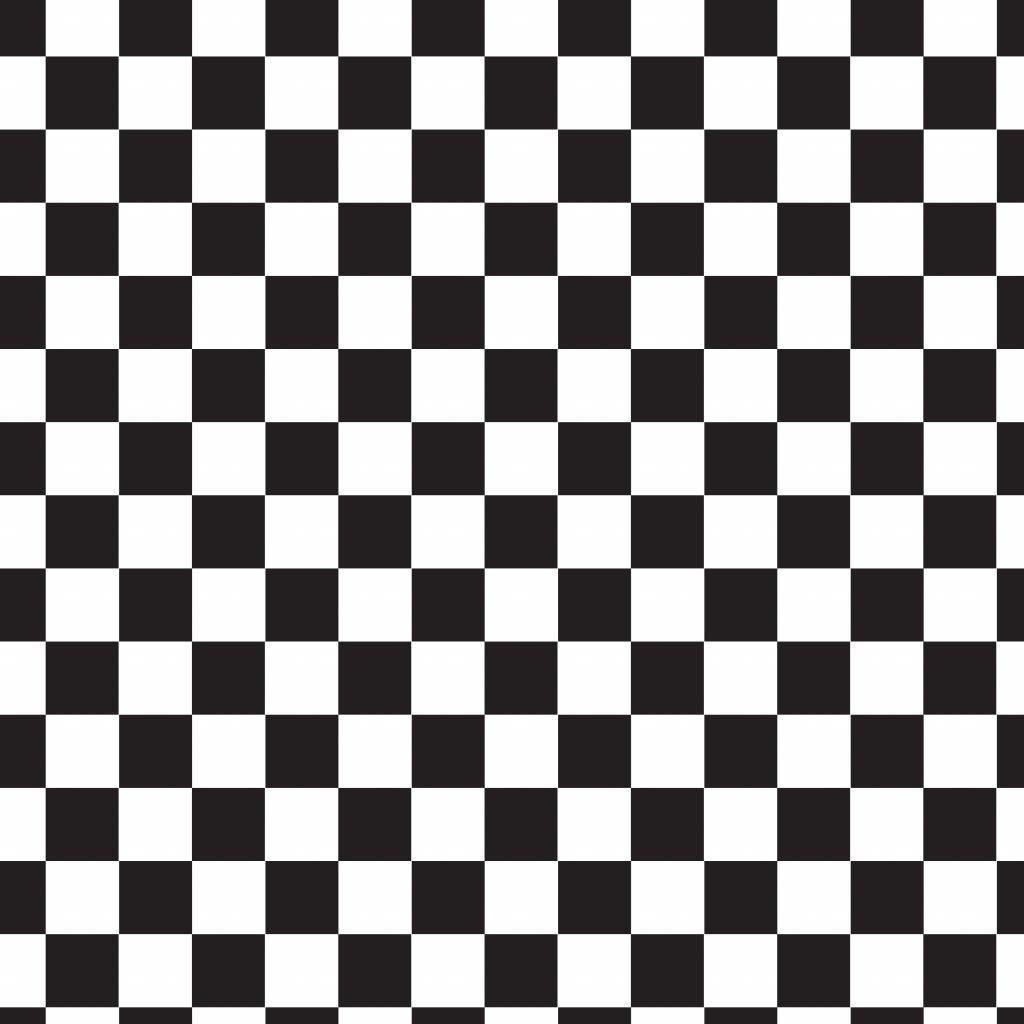 šachovnice černá 722002 (vyberte materiál zimní softshell elastický (šíře 150cm) 280g  10000/10000)