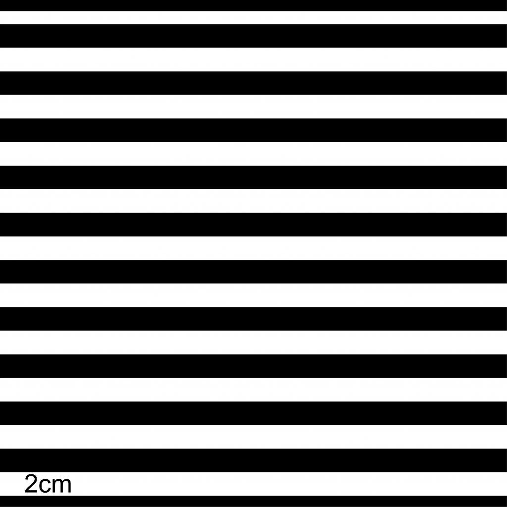 746002 proužek černobílý 2cm