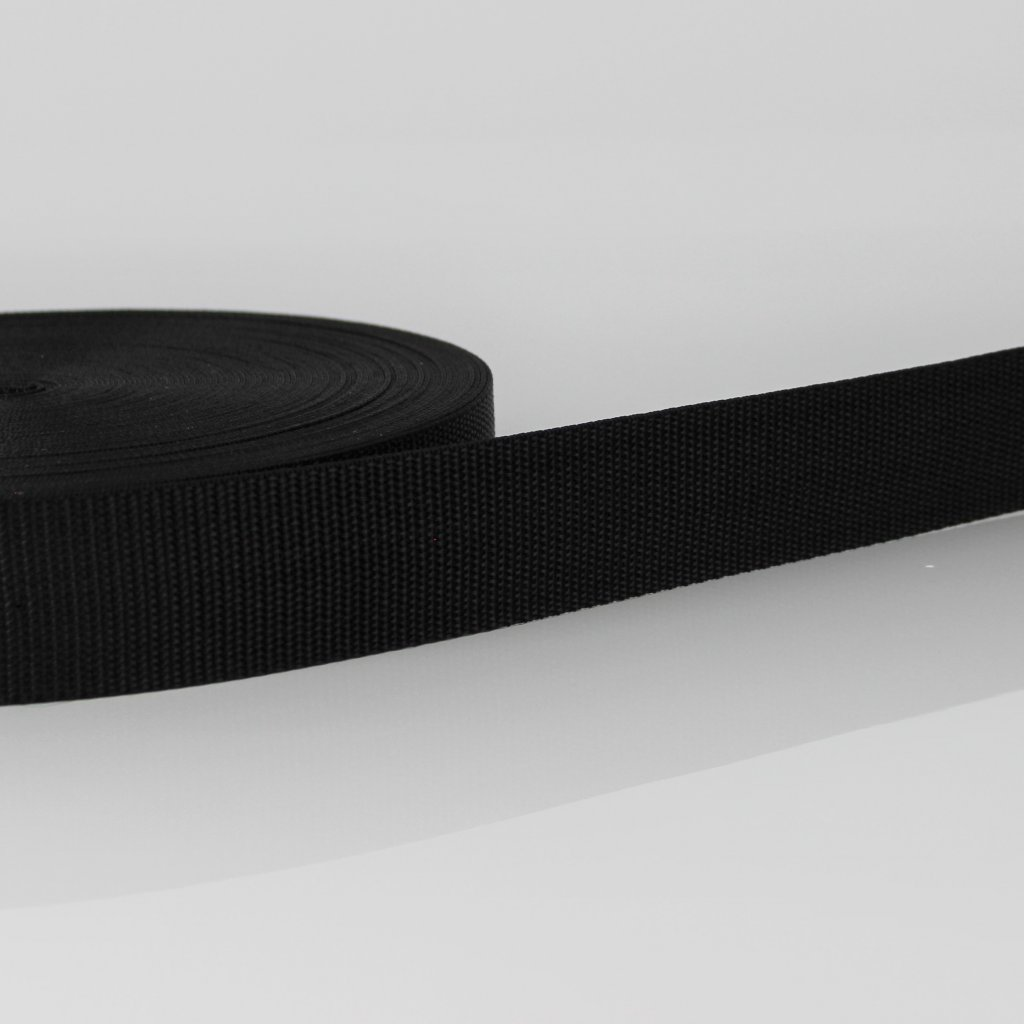 popruh 50mm - černý