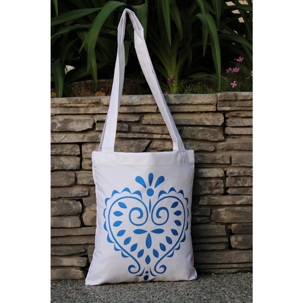 nákupní taška folklor bílá 450313