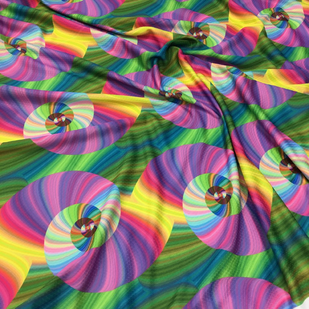 abstrakt spiral 701014 (vyberte materiál zimní softshell elastický (šíře 150cm) 280g  10000/10000)