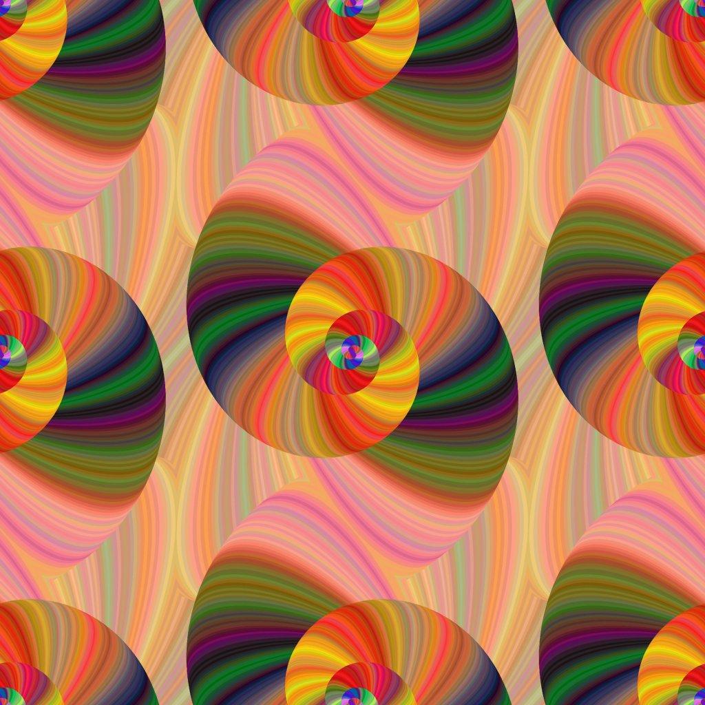abstrakt spiral 701015 (vyberte materiál zimní softshell elastický (šíře 150cm) 280g  10000/10000)