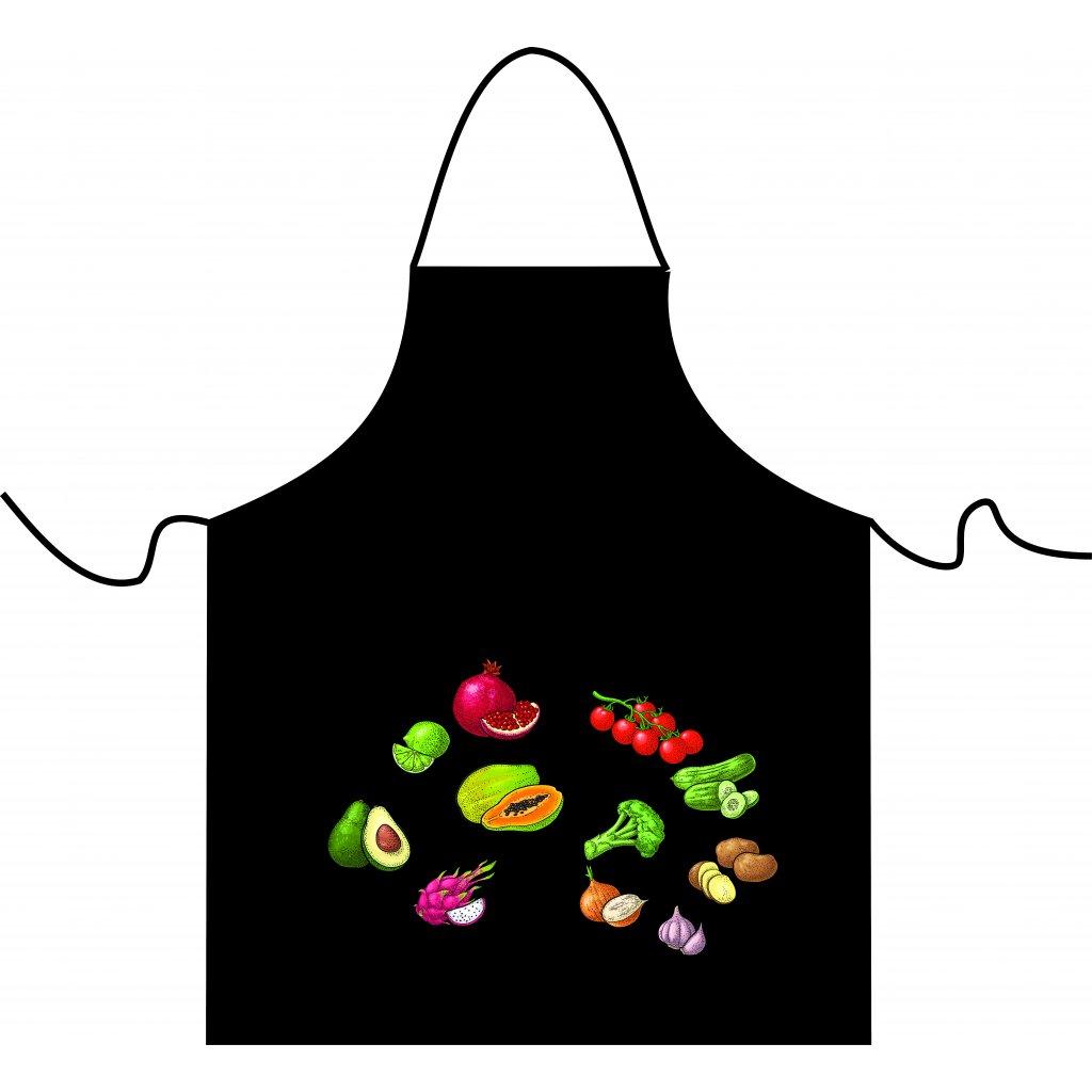 zástěra zelenina