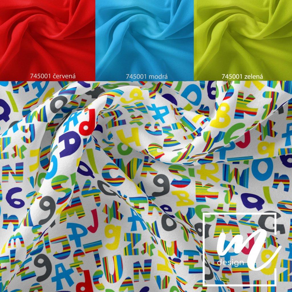 písmenka boys na bílé 754001 (vyberte materiál zimní softshell elastický (šíře 150cm) 280g  10000/10000)