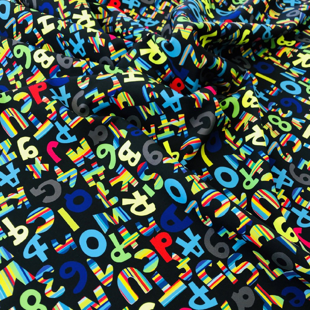 písmenka boys na černé 754002 (vyberte materiál zimní softshell elastický (šíře 150cm) 280g  10000/10000)
