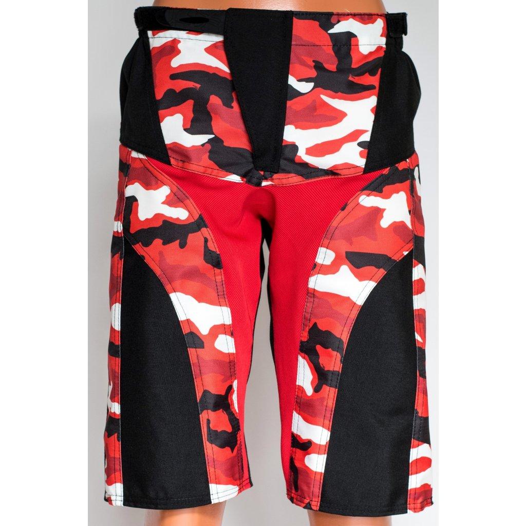 sportovní kraťasy Army Red