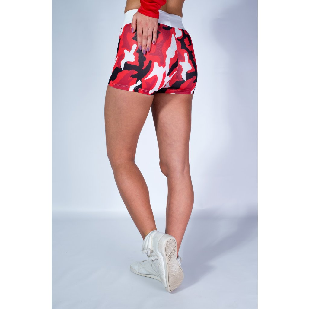 shorts Army Red