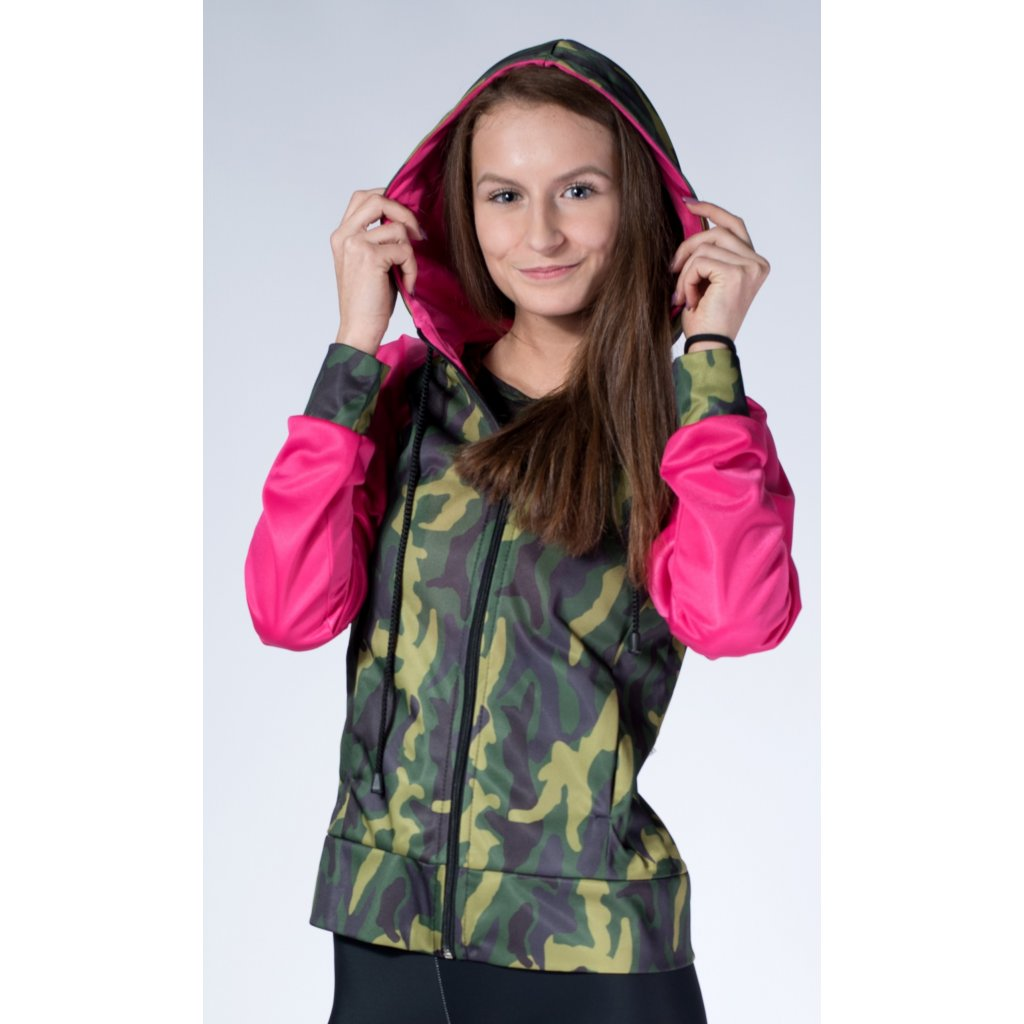 mikina LAURA Army Green