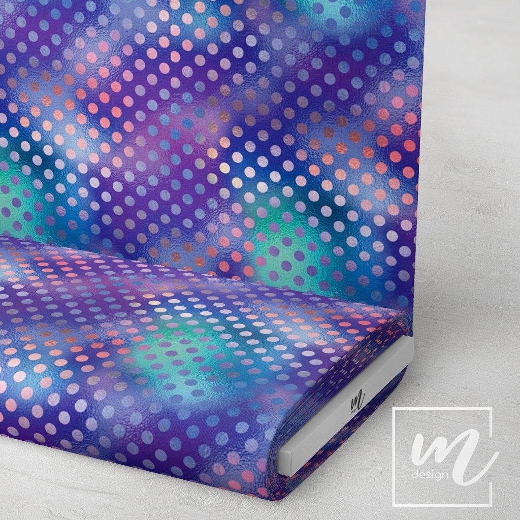 duhový vzor 709005 (vyberte materiál zimní softshell elastický (šíře 150cm) 280g  10000/10000)