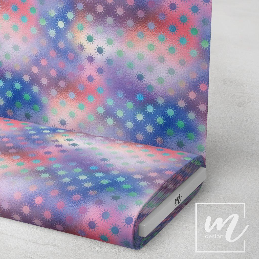 duhový vzor 709014 (vyberte materiál zimní softshell elastický (šíře 150cm) 280g  10000/10000)