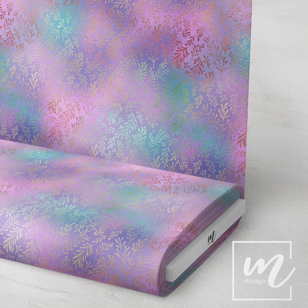 duhový vzor 709017 (vyberte materiál zimní softshell elastický (šíře 150cm) 280g  10000/10000)