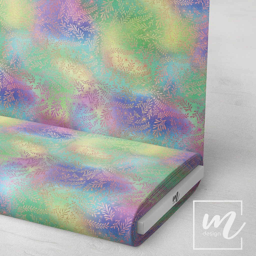 duhový vzor 709018 (vyberte materiál zimní softshell elastický (šíře 150cm) 280g  10000/10000)