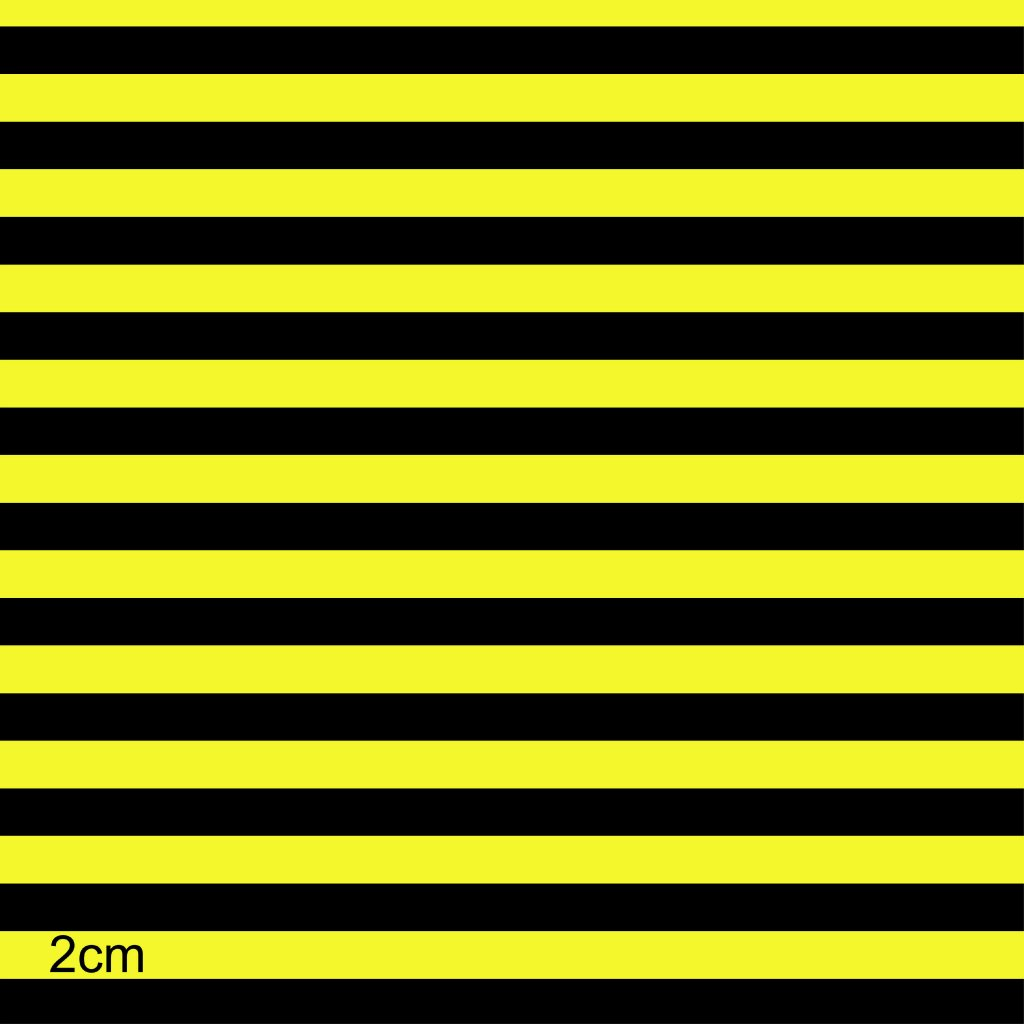 746003 proužek žluto černý
