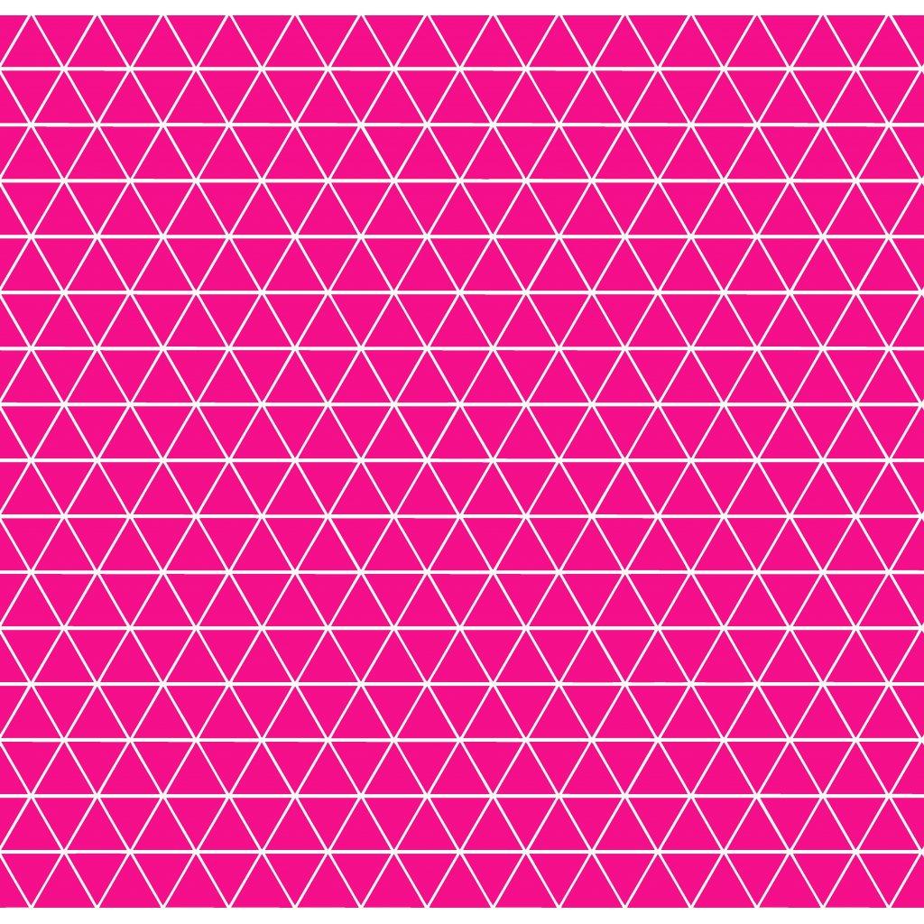 756003 trojúhelníčky tmavě růžové