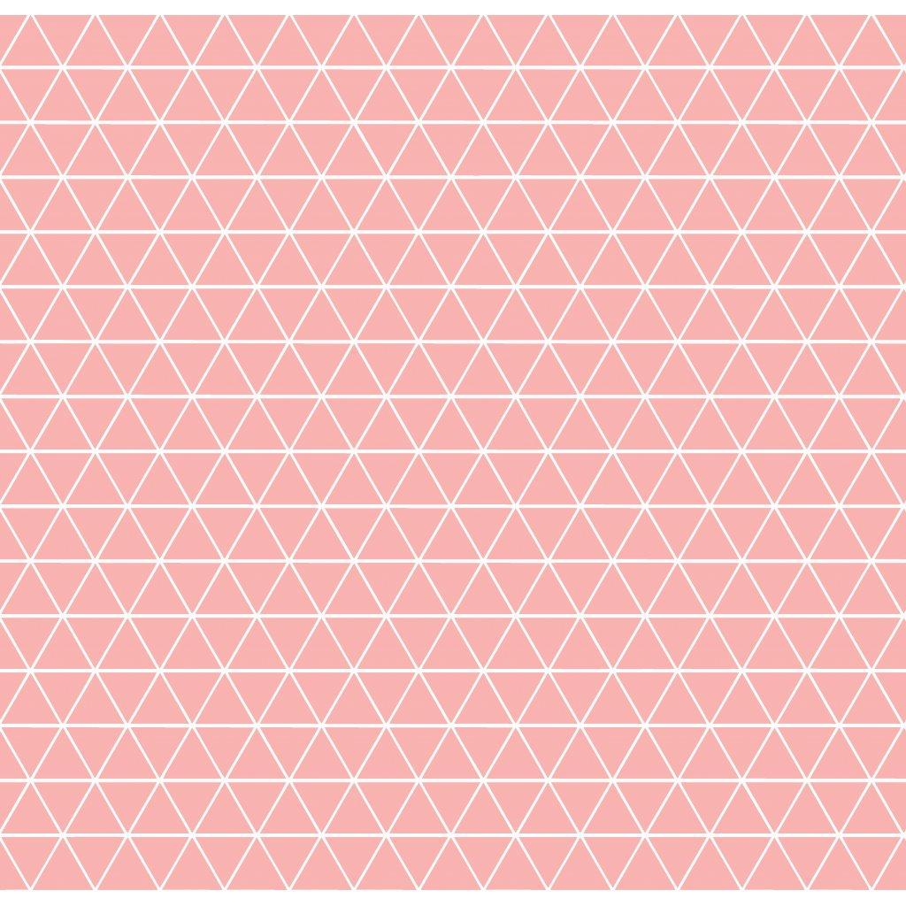 756004 trojúhelníčky pudrová