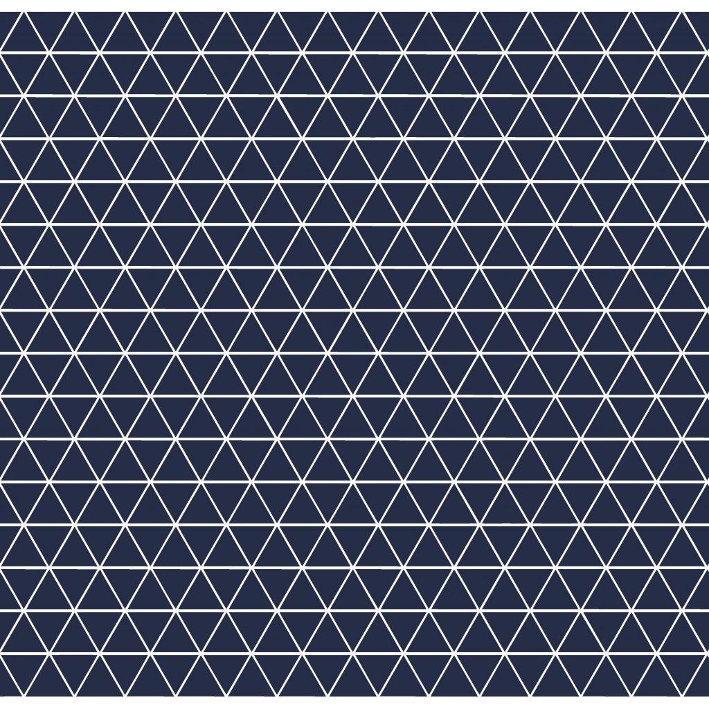 756010 trojúhelníčky tmavě modrá