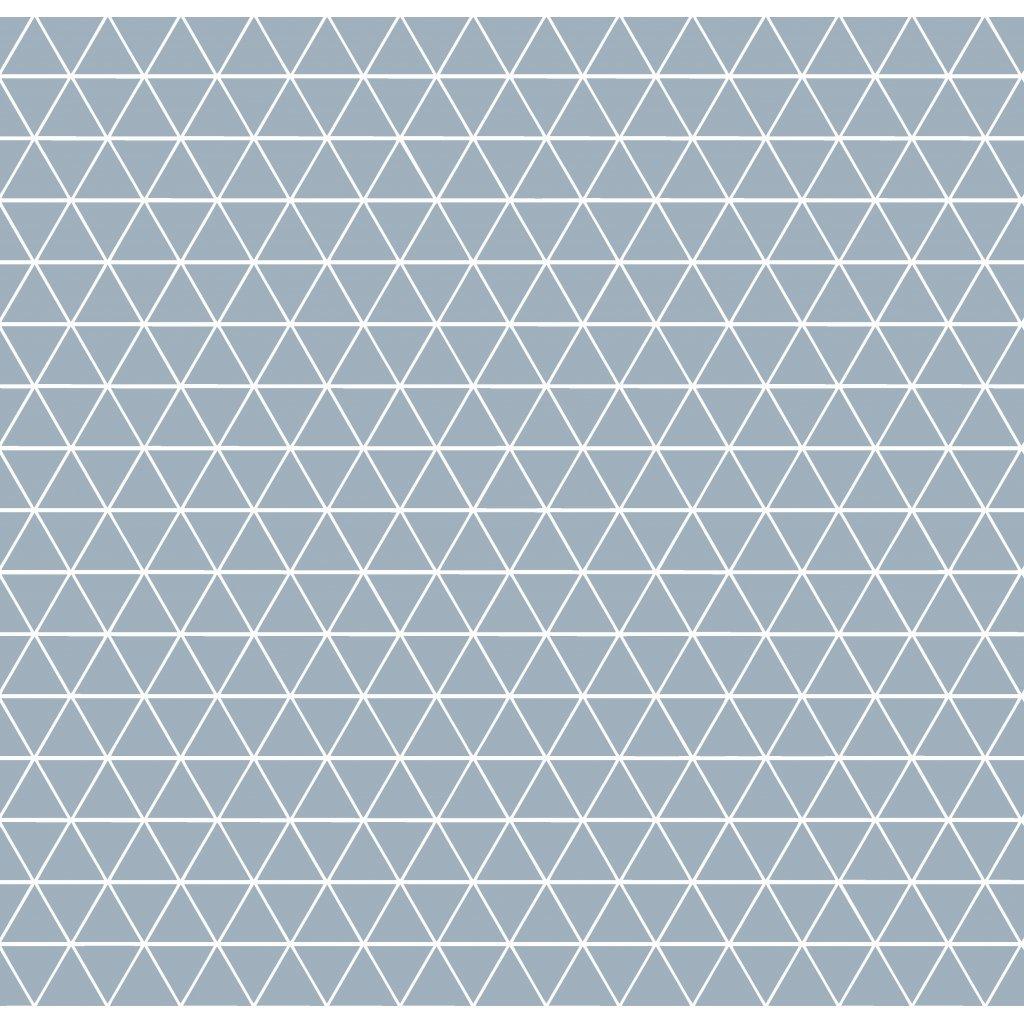 756012 trojúhelníčky šedá
