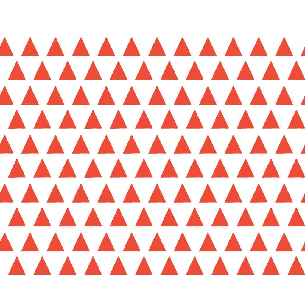 756022 trojúhelníky červená