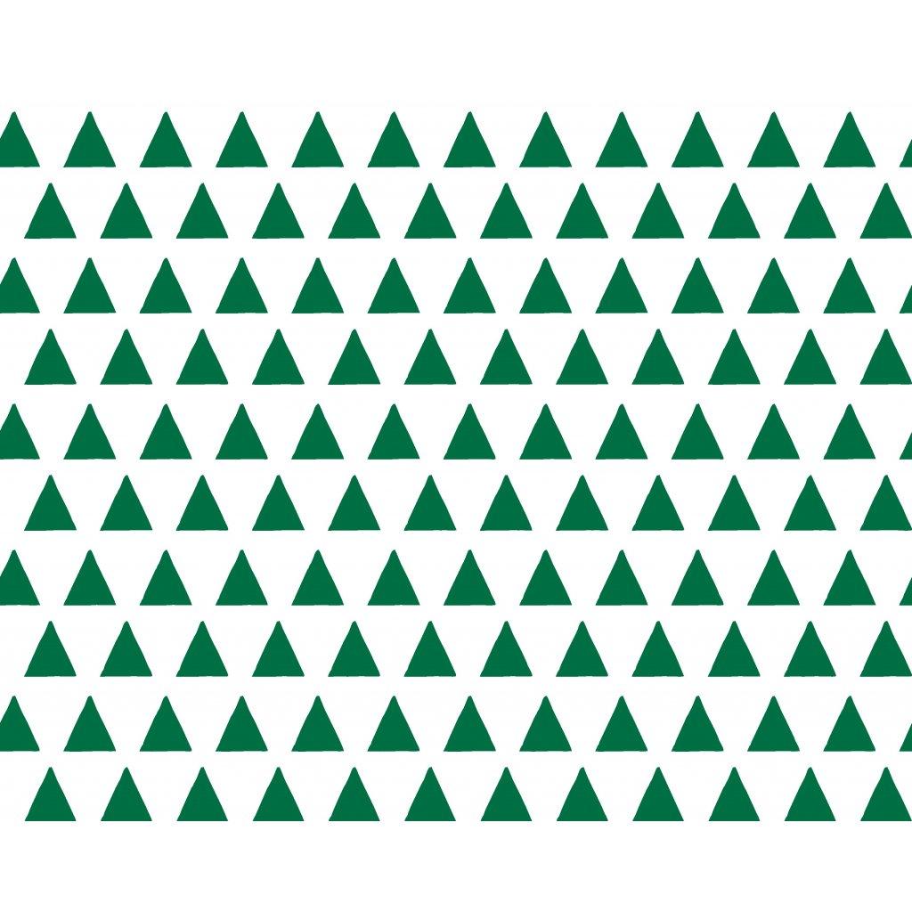 756024 trojúhelníky zelené tmavé
