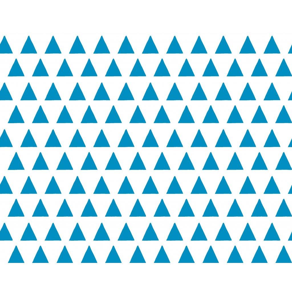 756025 trojúhelníky modré světlé