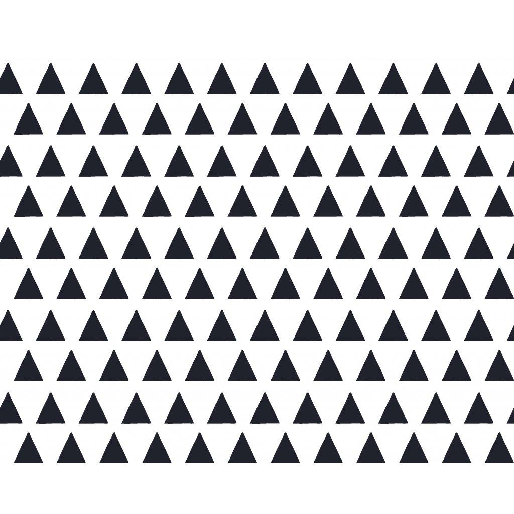 756028 trojúhelníky ČERNÉ