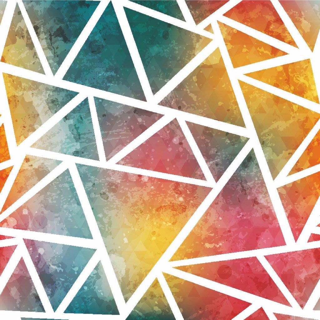 756034 trojúhelník duha
