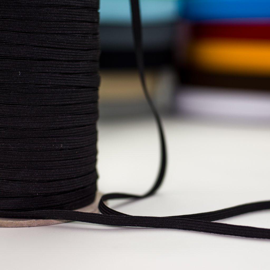 guma pruženka prádlová černá