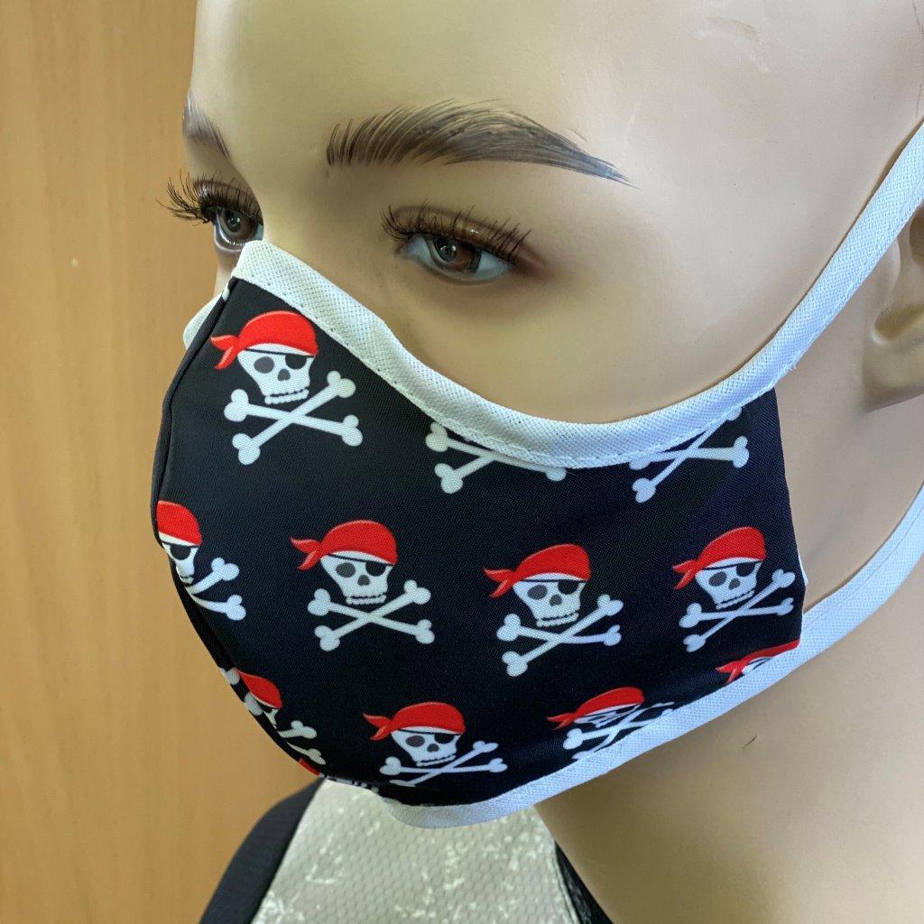 rouška pirát2