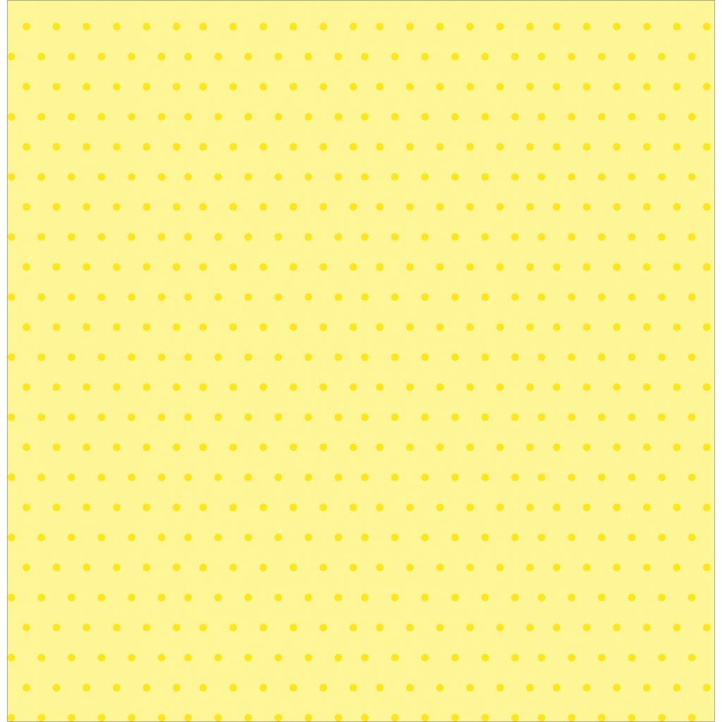 748241 2mm puntík tmavě žlutá na světlé