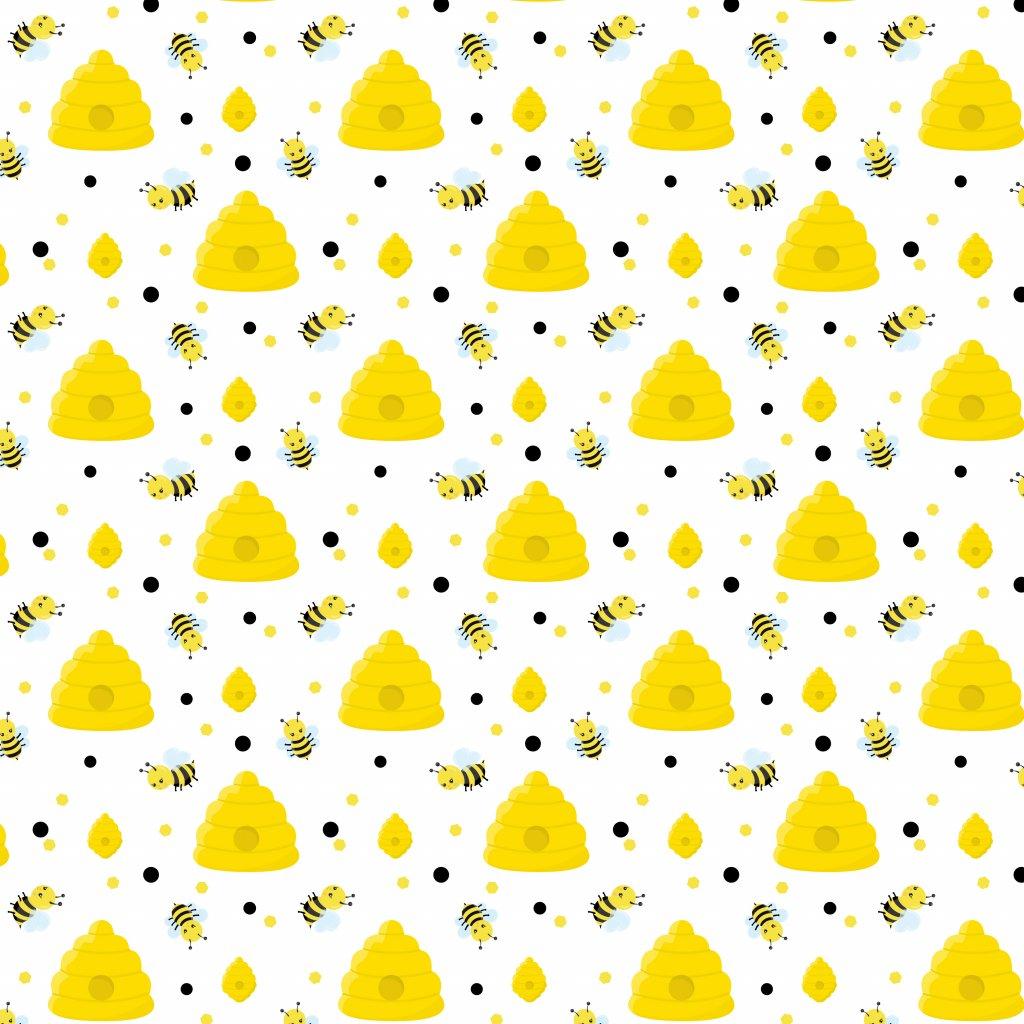 včelky 765078 (vyberte materiál zimní softshell elastický (šíře 150cm) 280g  10000/10000)