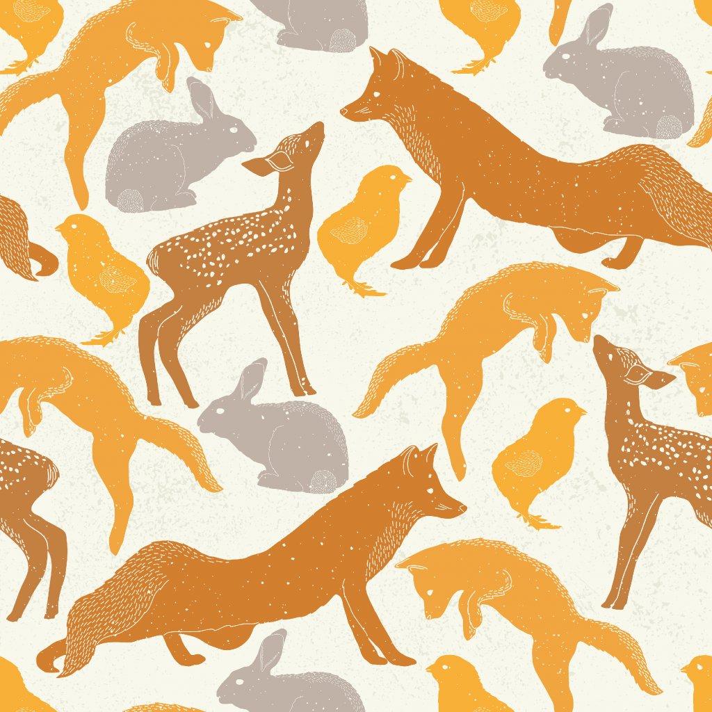 765108 lesní zvířátka