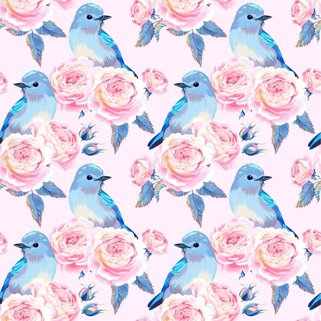 726056 růže a modří ptáčci 3