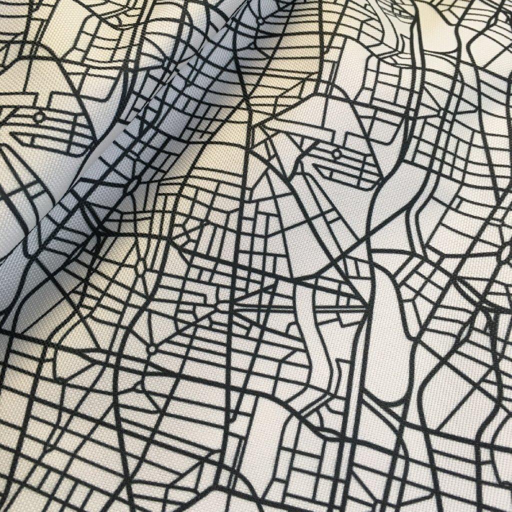 mapa 1 na bílé 737022 (vyberte materiál zimní softshell elastický (šíře 150cm) 280g  10000/10000)