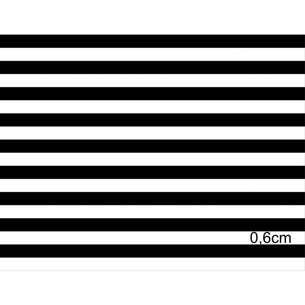 746010 proužek černobílý 0,6cm