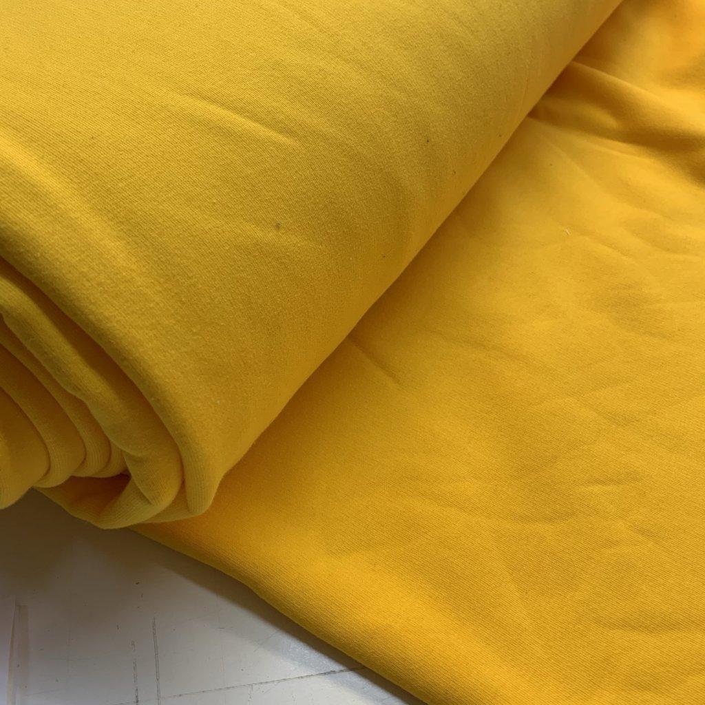 teplákovina počesaná 340g žlutá (1)