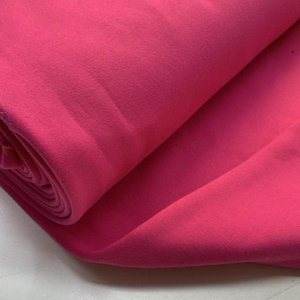 teplákovina počesaná 340g růžová (1)