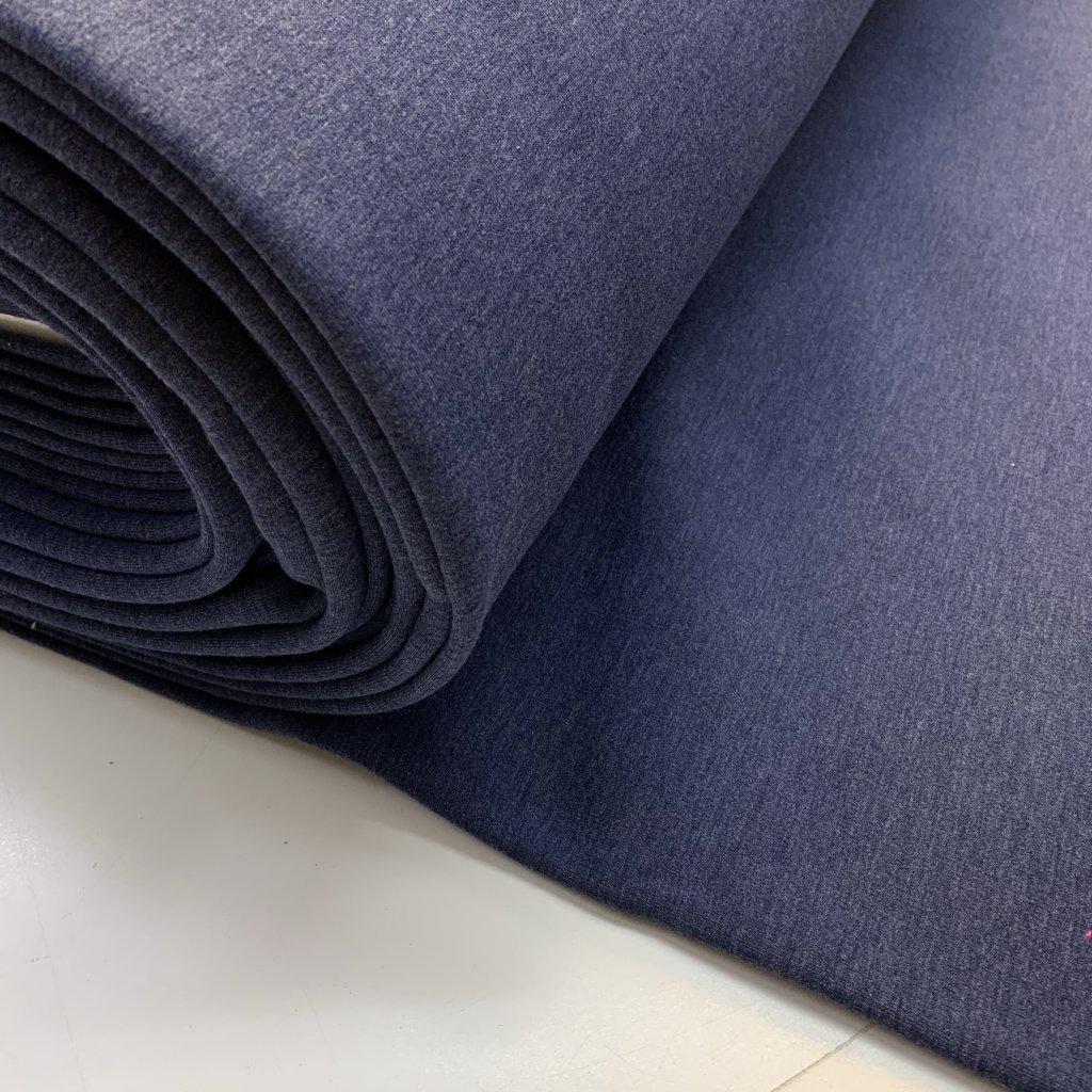 teplákovina počesaná 340g jeans (2)