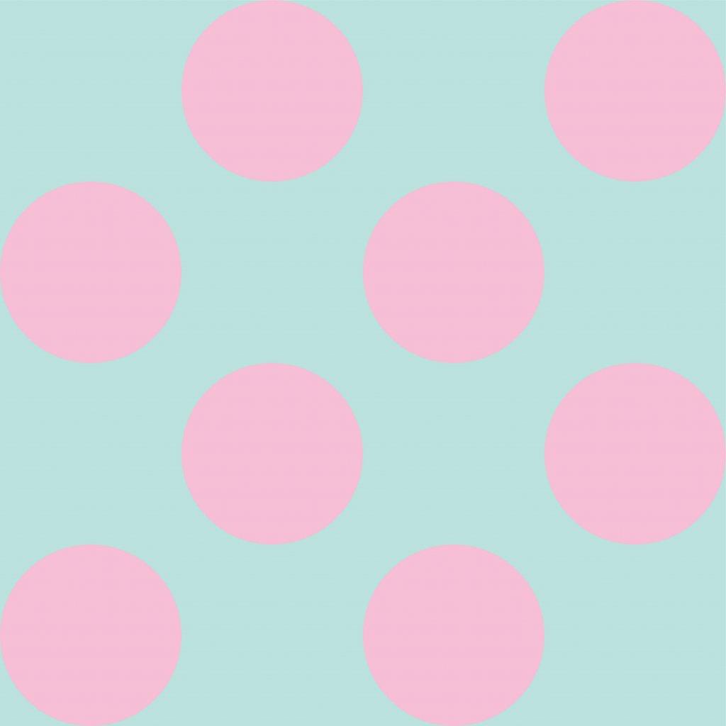 748154 PUNTÍK 10cm světle růžový mint
