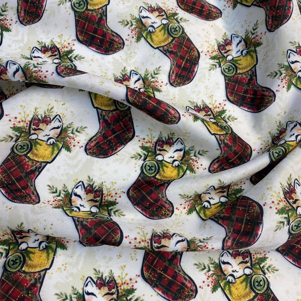 vánoční kočka v botě 758210