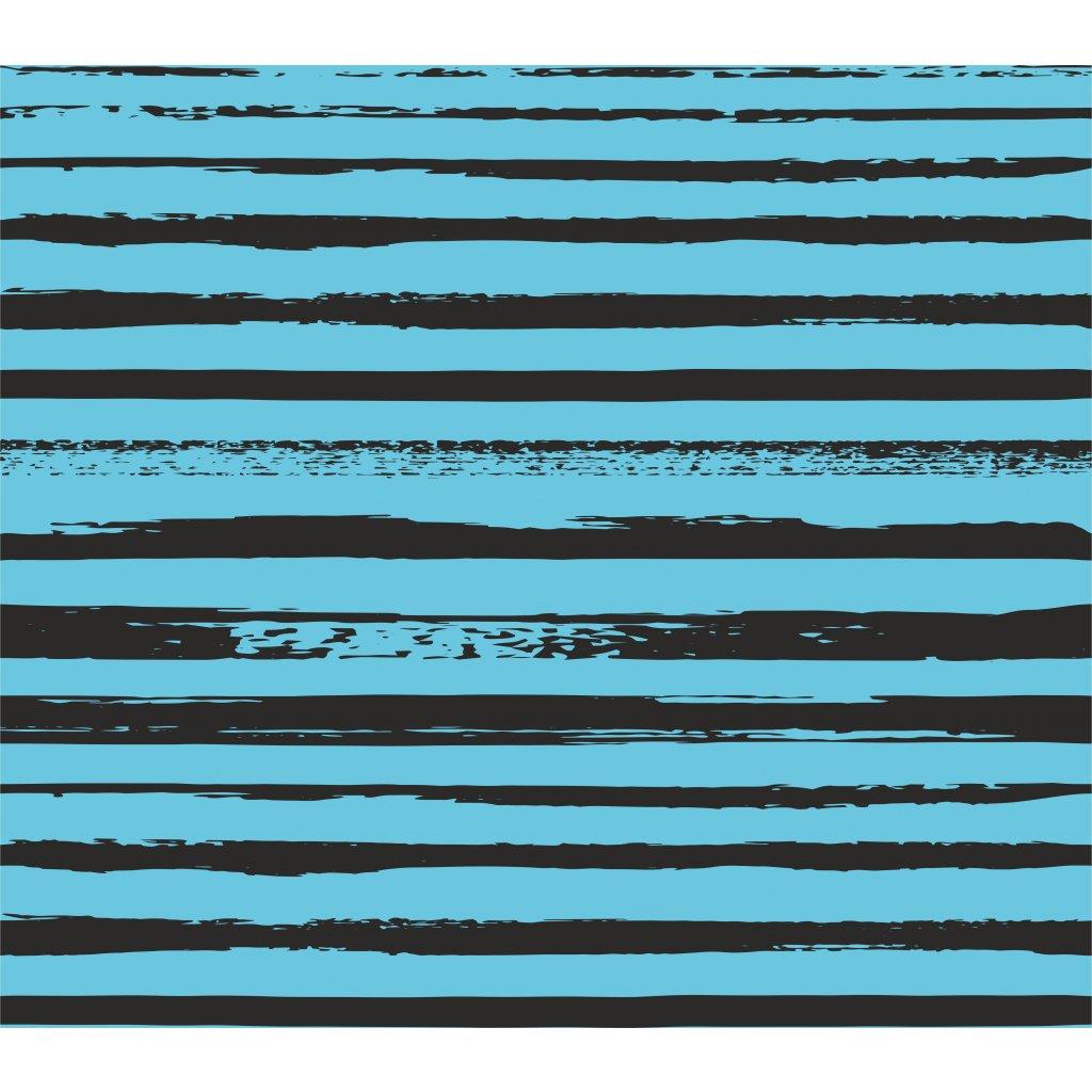 746008 2 pruhy crazy černé na zeleno modré