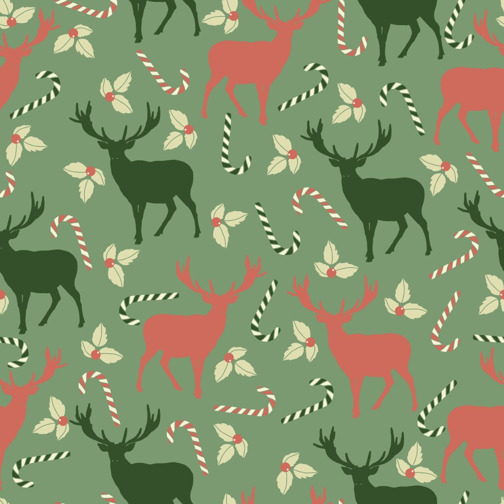 MERRY CHRISTMAS PATTERN 5