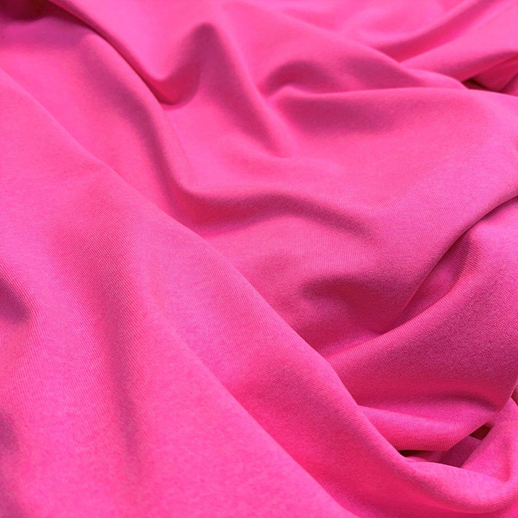 lycra - neon růžová (lehký melír)