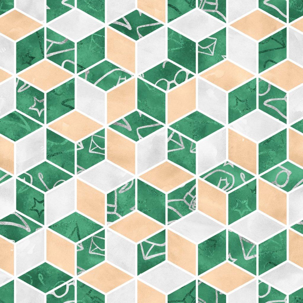 škola čar a kouzel zelená doplňková 723031 (vyberte materiál zimní softshell elastický (šíře 150cm) 280g  10000/10000)