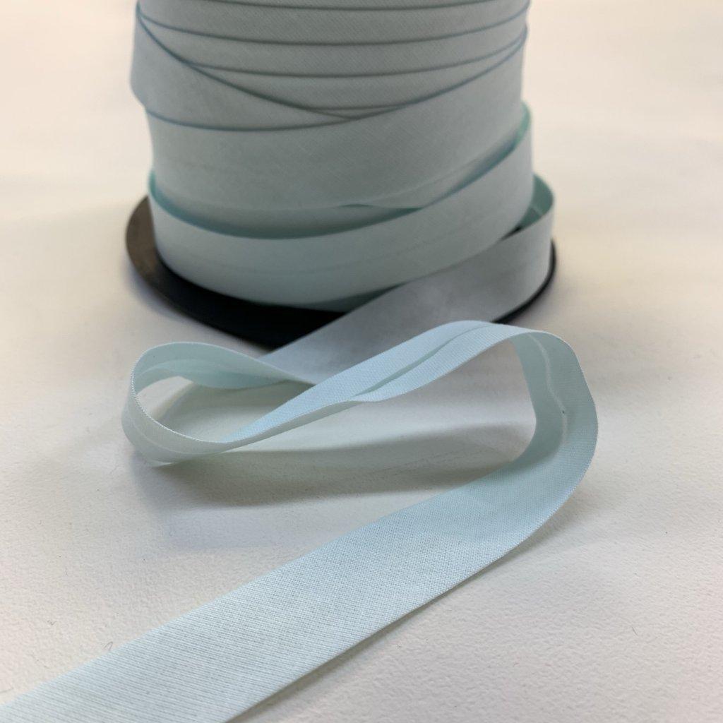 šikmý proužek bavlna 18 mm mint světlá