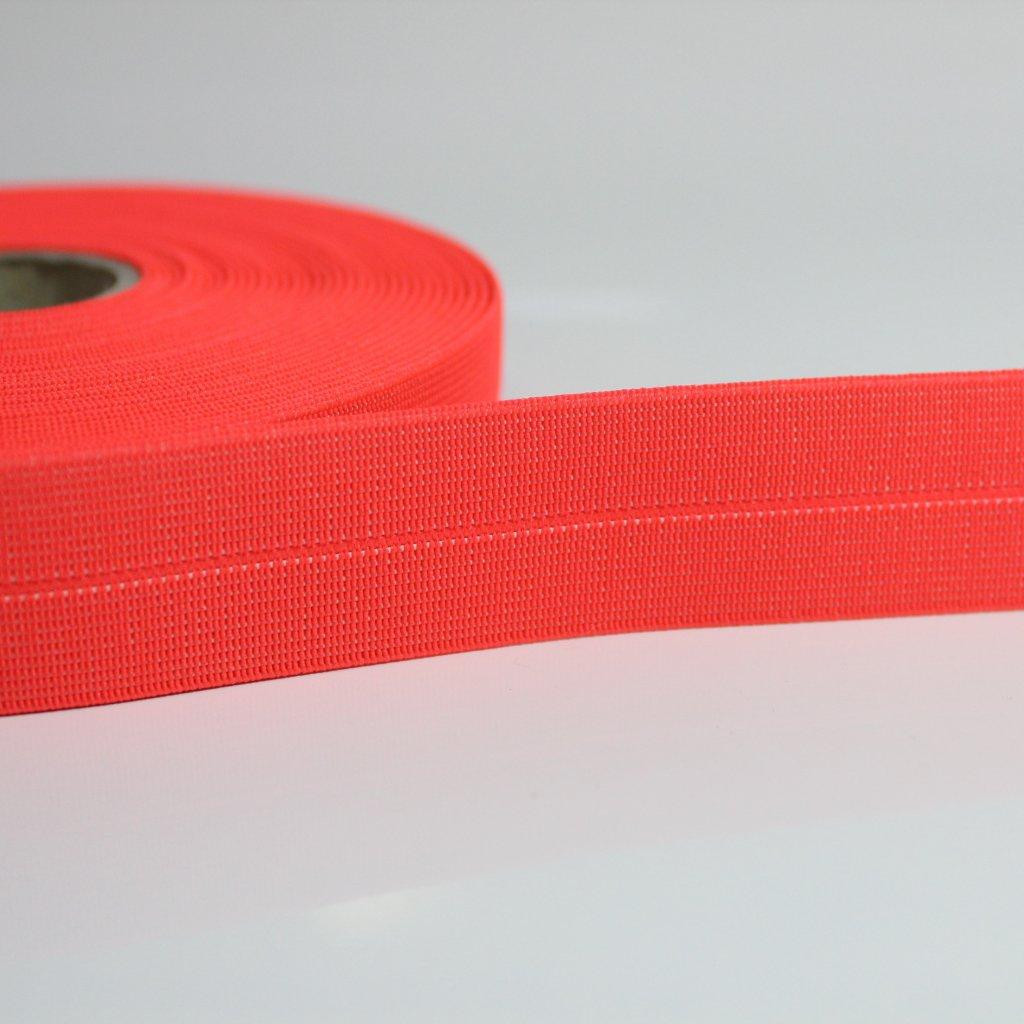 guma lemovací reflex růžovo oranžová 300511